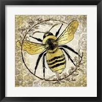 Framed Honey Bee 2