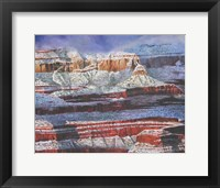 Framed Silence in the Canyon