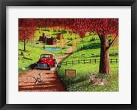 Framed Autumn in Pleasant Valley