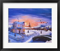 Framed Christmas in the Country #3