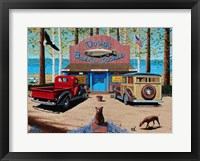 Framed Dougs Bait and Tackle Shop