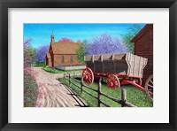 Framed Orchard Prairie