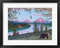 Framed Teton Majesty