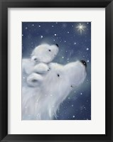 Framed Polar Bear And Cub 2