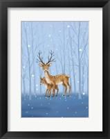 Framed Reindeers