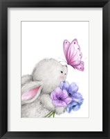 Framed Rabbit and Butterfly