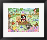 Framed Garden Animals