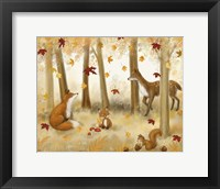 Framed Autumn Scene
