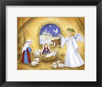 Framed Nativity