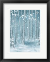Framed Winter Wood
