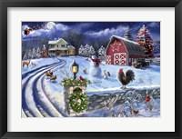 Framed 25 Holiday Farm Road