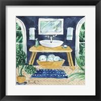 Framed Tropical Bathroom 2