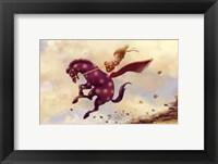 Framed Horsey