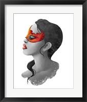 Framed People- Red Mask