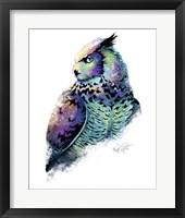 Framed Woodlands- Great Horned Owl