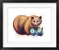 Framed Woodlands- Mama Bear