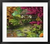 Framed Forest Cottage Wildlife