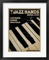 Framed Jazz Hands