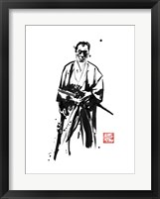 Framed Old Samurai