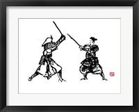 Framed Samurai Fight Tryptique Partie 1