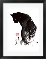 Framed Spots Cat