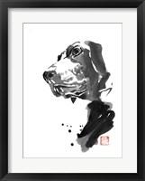 Framed Dog Corner