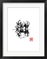 Framed Rhino Eflet