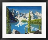 Framed Mountain Lake