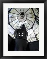 Framed Fresnel Lighthouse Lens