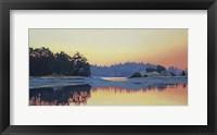 Framed Piper's Lagoon Sundown