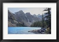 Framed Valley of the Ten Peaks