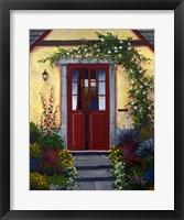 Framed Welcoming Doors