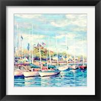 Framed Island Sail Boats