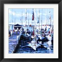 Framed Mackinac Boat Race