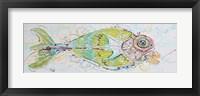 Framed Fish Face Right