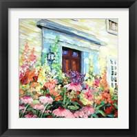 Framed Cornflower Porch