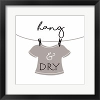 Framed Hang and Dry