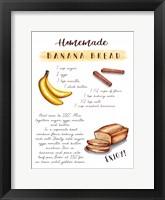 Framed Banana Bread Recipe