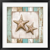 Framed Two Starfish