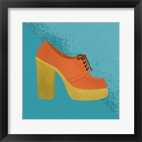 Framed Orange Clog