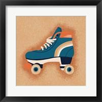 Framed Orange Skate