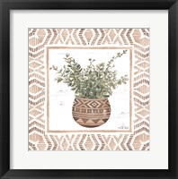 Framed Terracotta Pot I