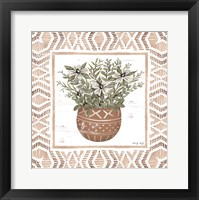Framed Terracotta Pot II