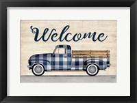Framed Welcome Truck