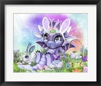 Framed Bunny Lil DragonZ