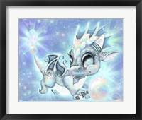Framed Opal Lil Dragonz