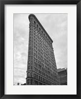 Framed New York Flatiron Building