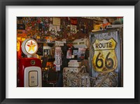 Framed Route66 Interior Store