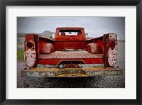 Framed Vintage Backend Pickup
