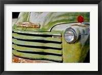 Framed Vintage Green Grill 1